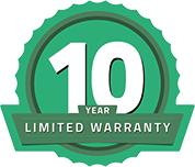 CoverPRO synthetic roof felt 10 year limited warranty