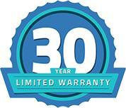 CoverPRO 3000 30 year limited warranty